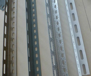 304 stainless steel perforated angle bar - Jaway Steel