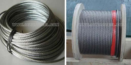 Factory Price 302 Stainless Steel Wire Rope